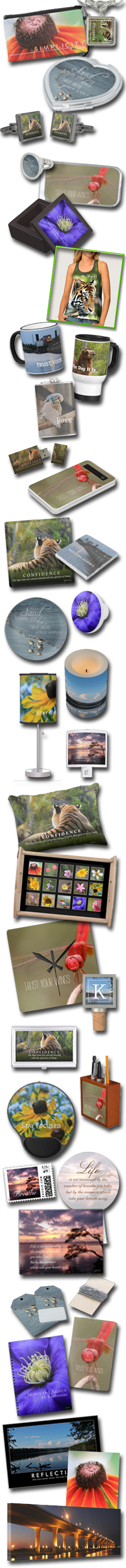 Custom Personalized Products Inspired by Nature Photography