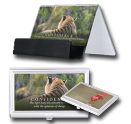 Nature Themed Business Card Holders