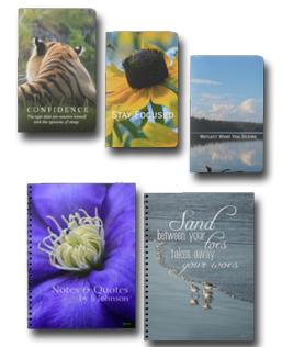 Nature Themed Notebooks & Journals