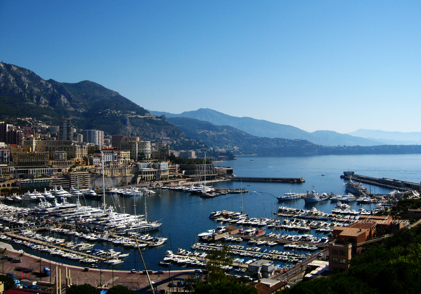 A View Of La Condamine, Monaco In The French Riviera Circa 2007, But A Quick Internet Search Tells Me It Looks Much The Same Today.