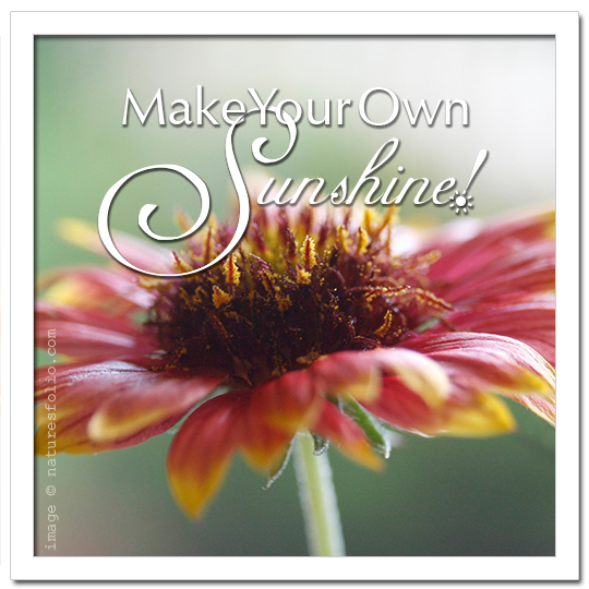 Make Your Own Sunshine!