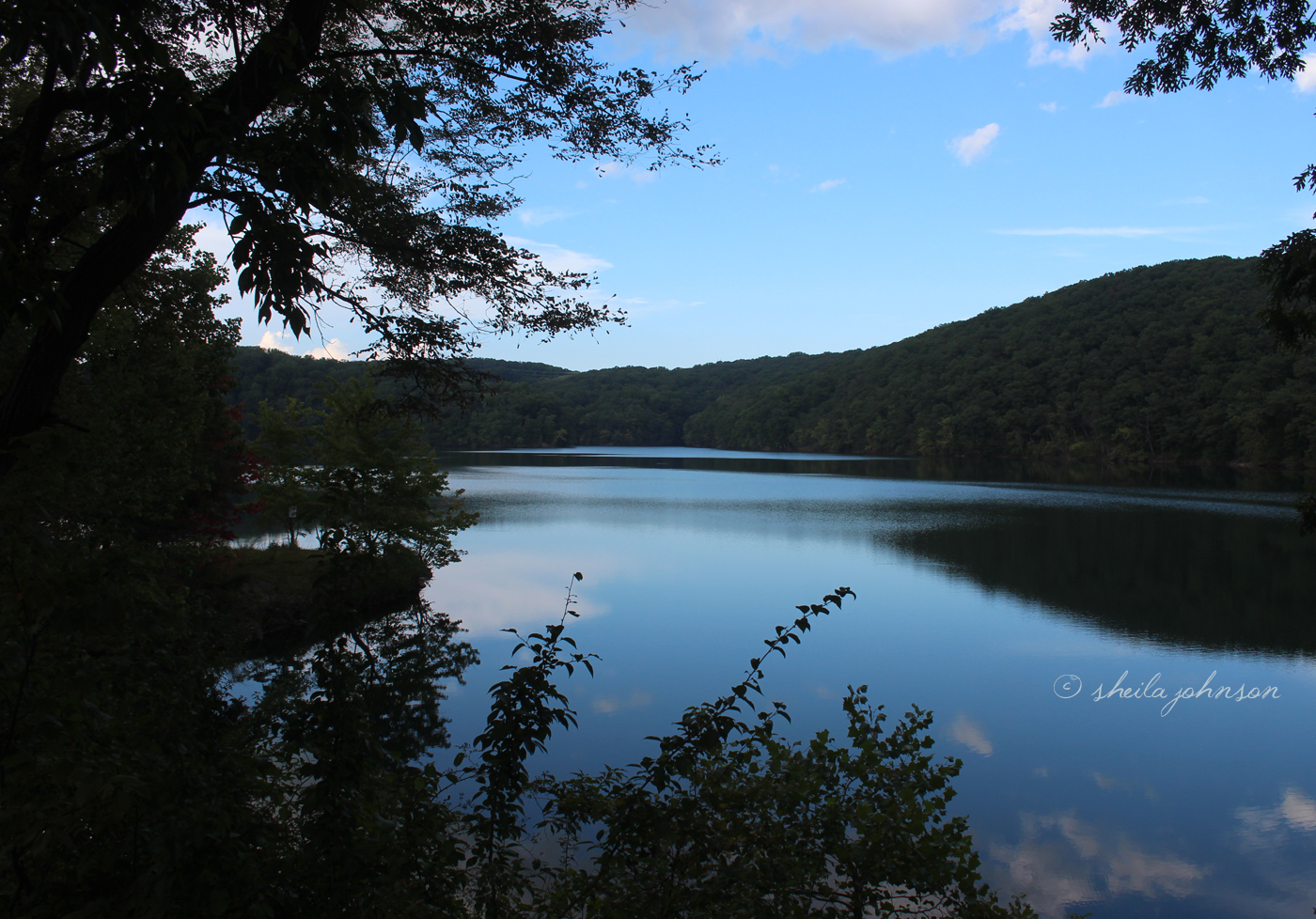 Loch Raven Reservoir, Baltimore County, Maryland, On A Memorable September Afternoon.